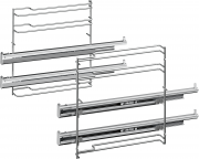 Bosch Sütősín Full extension rails, 2-level
